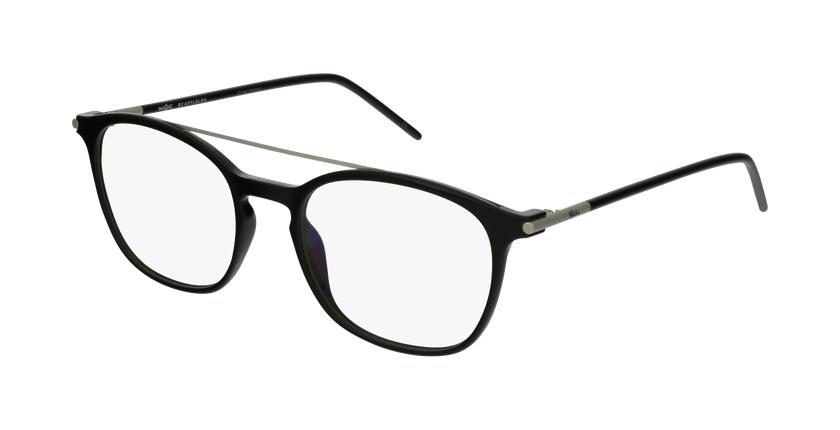 Gafas graduadas hombre MAGIC 71 negro - vue de 3/4