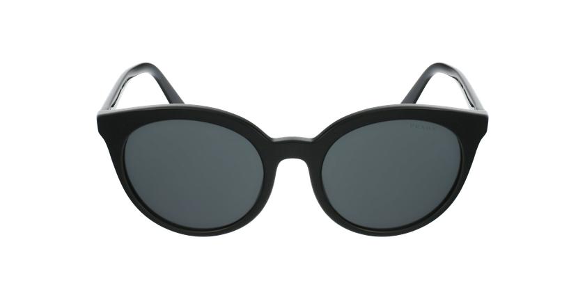 Gafas de sol mujer PR 02XS negro/negro - vista de frente
