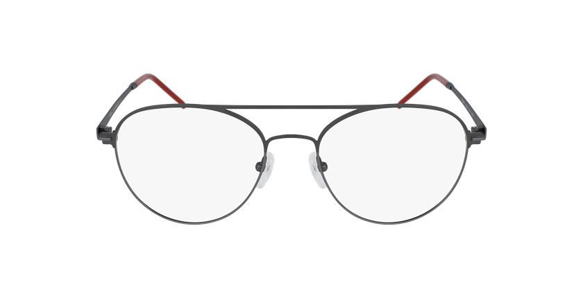 Gafas graduadas hombre MERCURE gris - vista de frente
