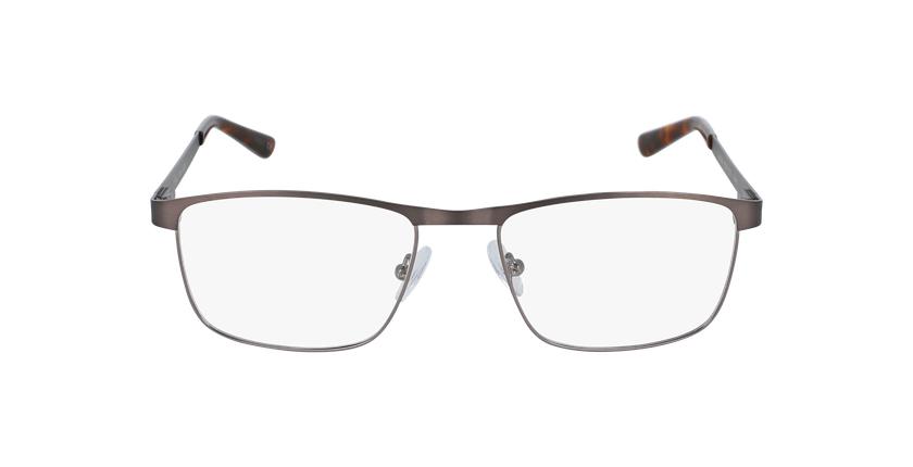Gafas graduadas hombre GUIDO gris/plateado - vista de frente