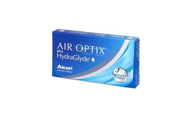 Lentillas Air Optix Hydraglyde 6L - vista de frente