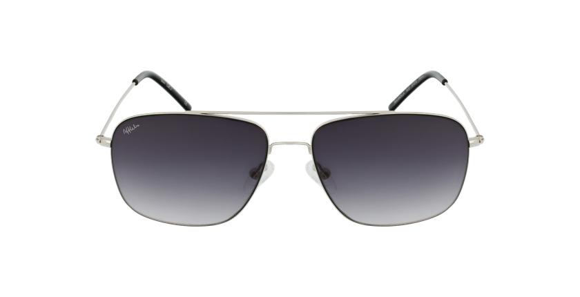 Gafas de sol hombre ANDILLA plateado - vista de frente