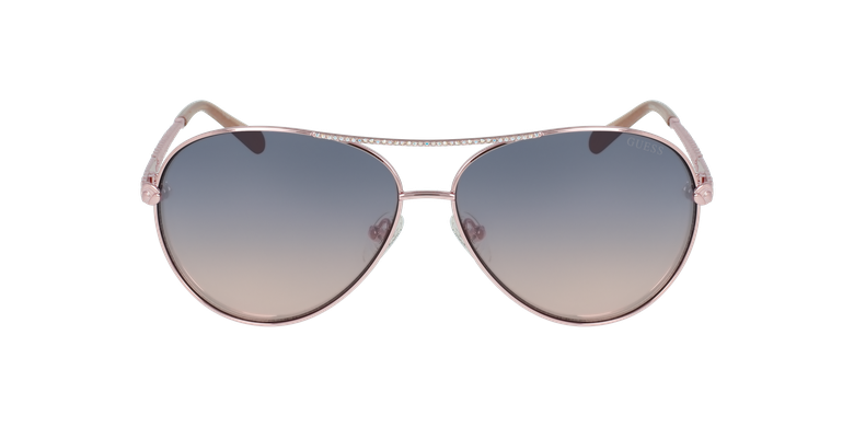 Gafas de sol mujer GU7470-S doradovista de frente