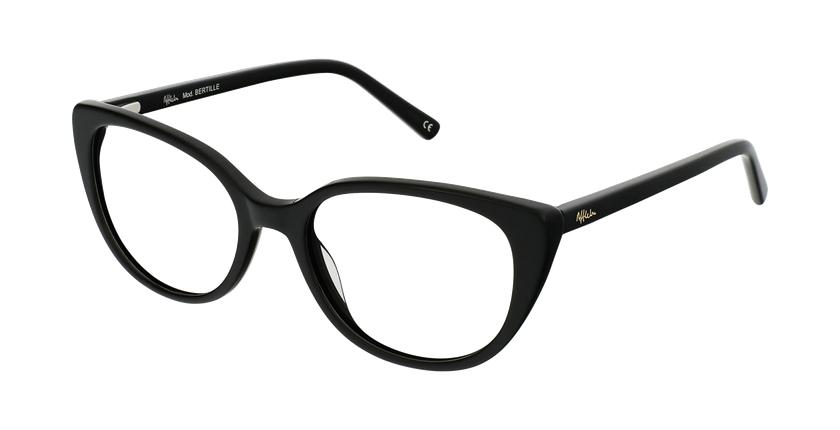 Gafas graduadas mujer OAF21621 negro - vue de 3/4