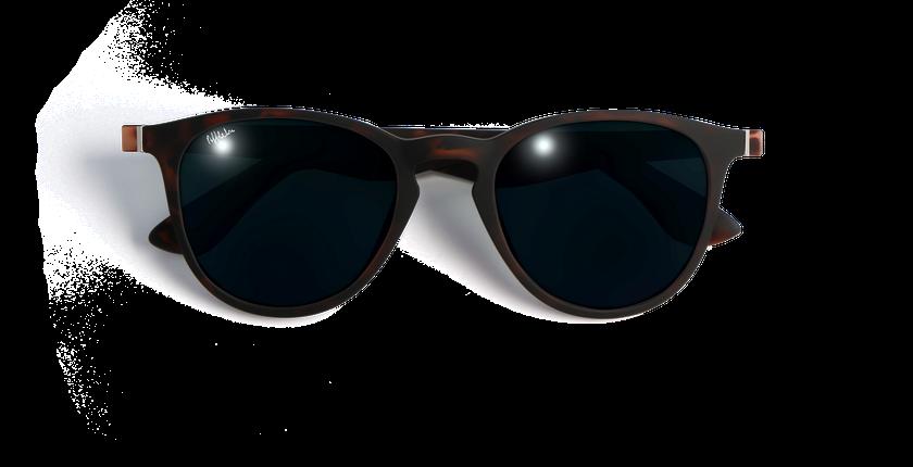Gafas de sol hombre VARESE POLARIZED carey - vista de frente