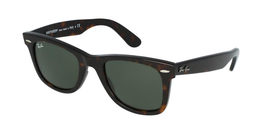 Gafas de sol WAYFARER marrón/negro - vue de 3/4