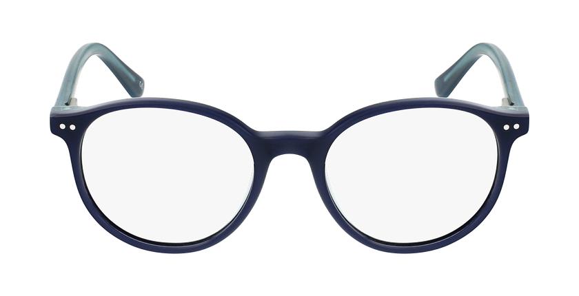 Gafas graduadas niños JUDE azul/turquesa - vista de frente