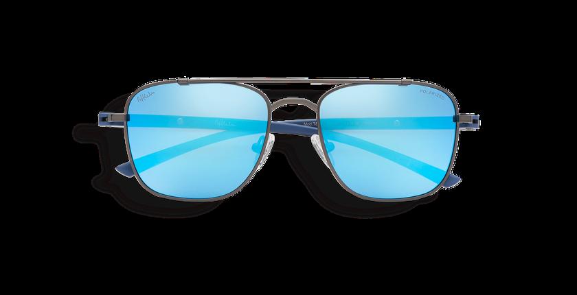 Gafas de sol hombre TEVA POLARIZED gris/azul - vista de frente