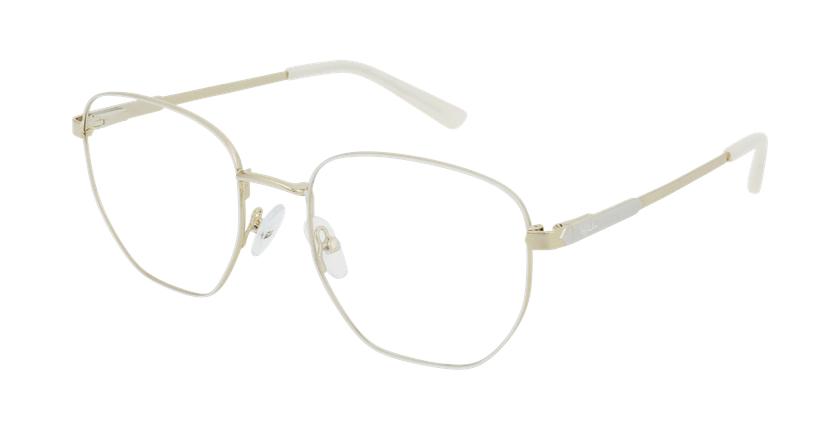 Gafas graduadas mujer ERIN blanco - vue de 3/4