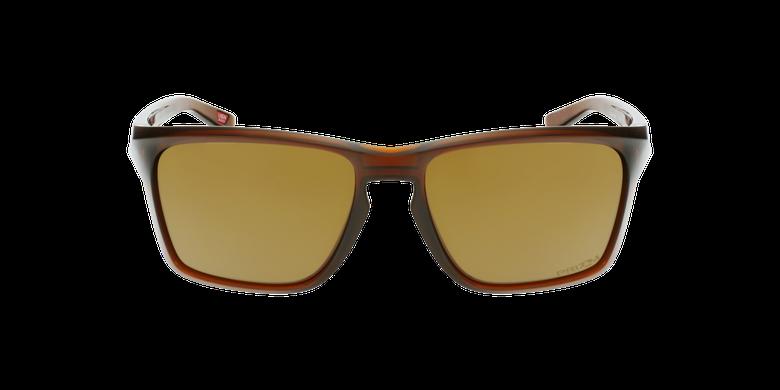 Gafas de sol hombre SYLAS marrón/amarillovista de frente
