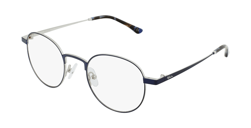 Gafas graduadas MAGIC 70 azul/plateado - vue de 3/4