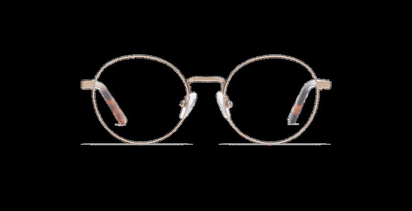 Gafas graduadas mujer CLAIRE dorado - vista de frente