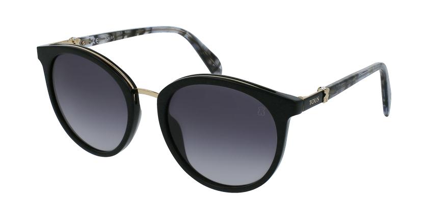 Gafas de sol mujer STOA29S negro/carey - vue de 3/4