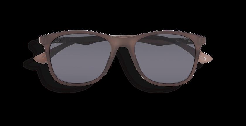 Gafas de sol hombre FUMIO POLARIZED gris - vista de frente
