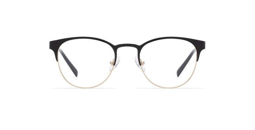 Gafas graduadas mujer FANTINE negro - vista de frente