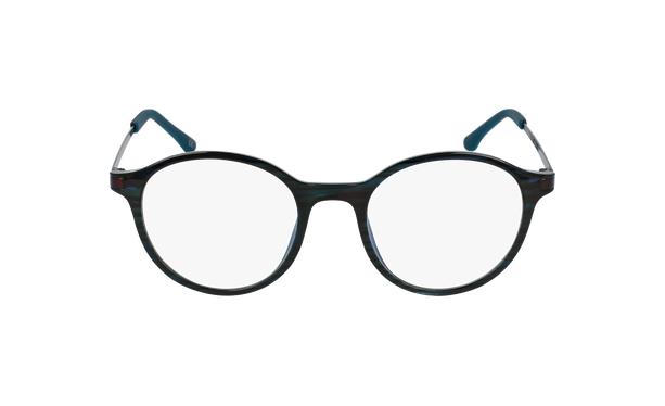 Gafas graduadas mujer MAGIC 37 BLUE BLOCK verde - vista de frente
