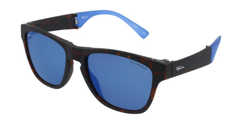 Gafas de sol hombre GEANT carey/azul - vue de 3/4