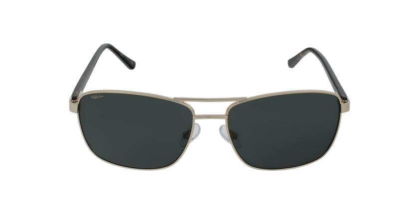 Gafas de sol hombre AMIR dorado - vista de frente