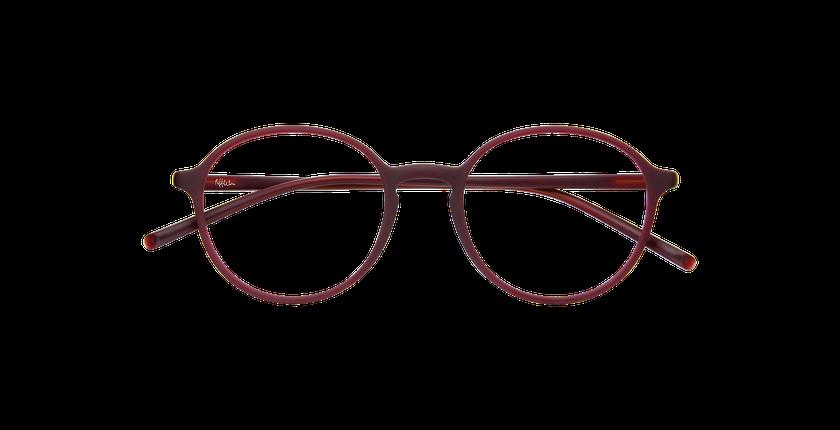 Gafas graduadas hombre LIGHT TONIC rojo/rojo - vista de frente