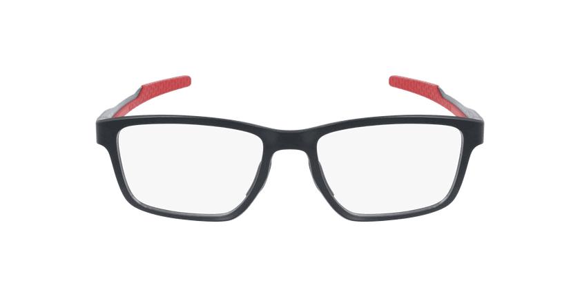 Gafas graduadas hombre 0OX8153 negro/rojo - vista de frente