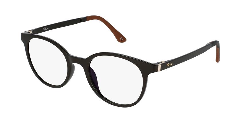 Gafas graduadas mujer MAGIC 36 BLUE BLOCK marrón - vue de 3/4