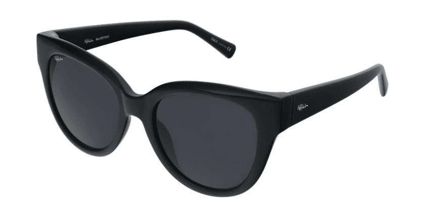 Gafas de sol mujer BRITANY negro - vue de 3/4