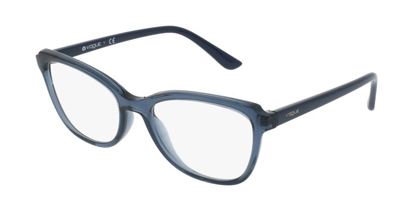 Gafas graduadas mujer VO5292 azul/azul - vue de 3/4