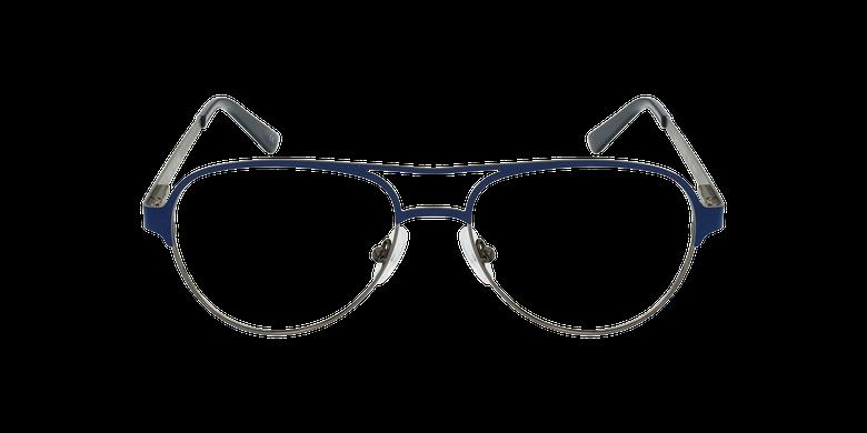 Gafas graduadas NAEL azul/plateadovista de frente