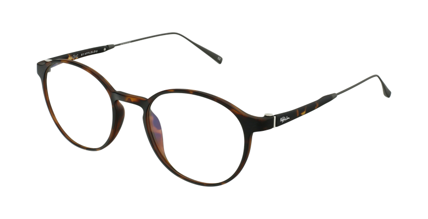 Gafas graduadas MAGIC 65 carey/plateado - vue de 3/4