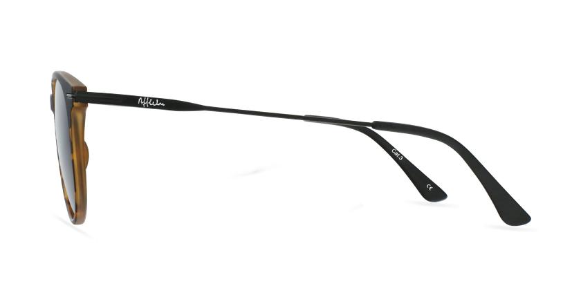 Gafas de sol hombre ARES negro/carey - vista de lado