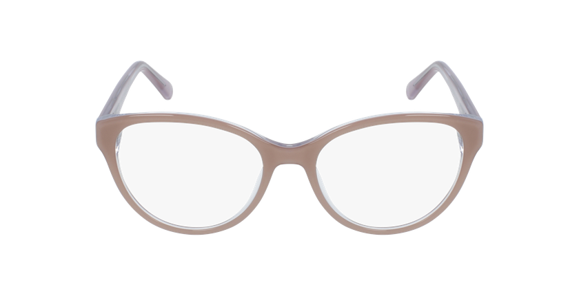 Gafas graduadas mujer OAF20521 marrón - vista de frente