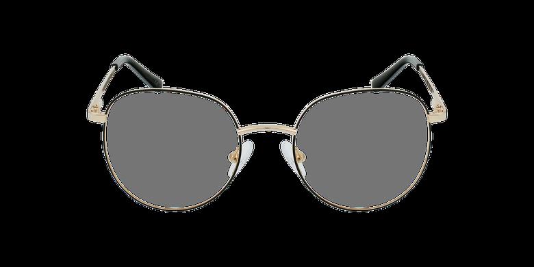 Gafas graduadas mujer JOANNA negro/dorado