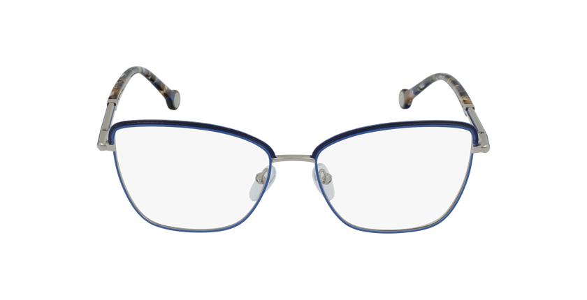 Gafas graduadas mujer VHE168 azul/plateado - vista de frente
