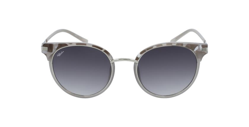 Gafas de sol mujer BARCELO carey/gris - vista de frente
