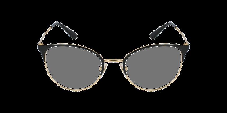 Gafas graduadas mujer VO4108 negro/doradovista de frente
