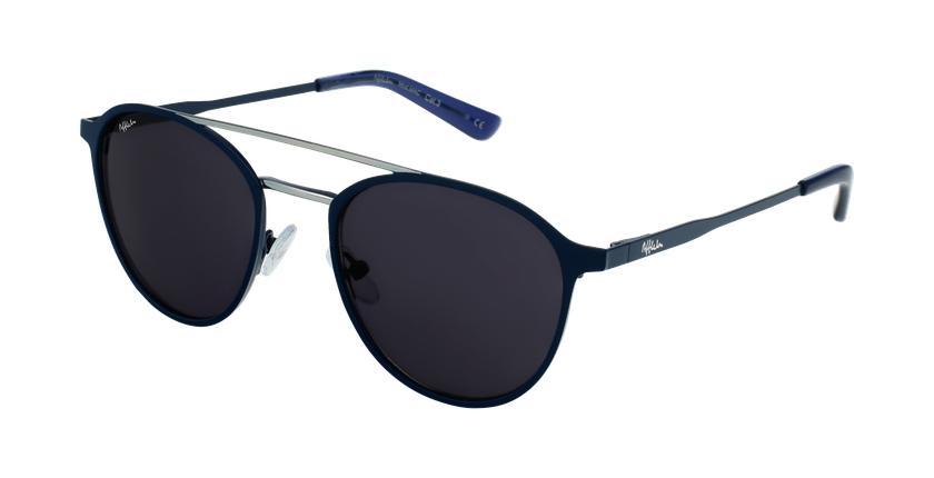 Gafas de sol MAC azul/plateado - vue de 3/4