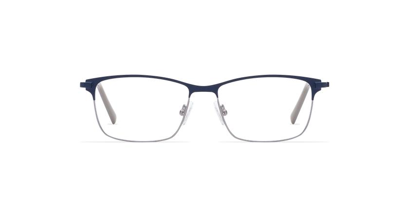Gafas graduadas hombre CORENTIN azul/plateado - vista de frente