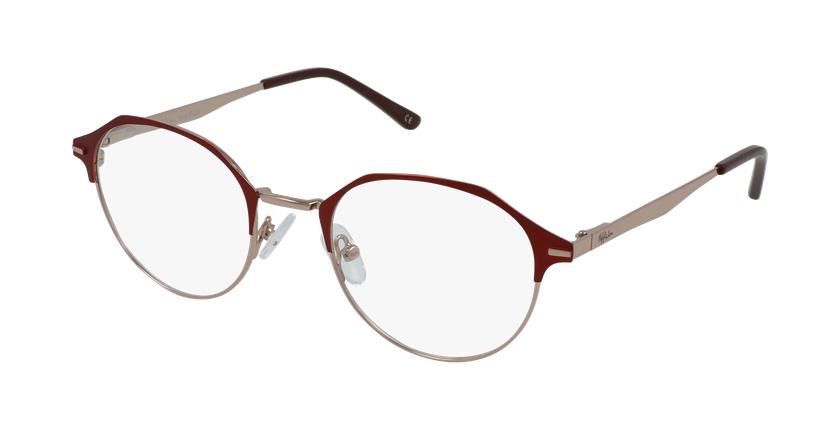 Gafas graduadas mujer OAF20524 rojo/rosa - vue de 3/4