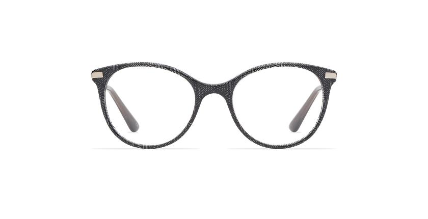 Gafas graduadas niños ALINE negro - vista de frente