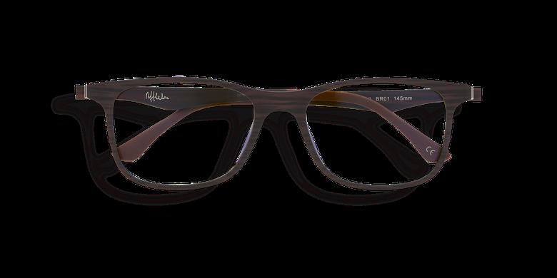 Gafas de sol hombre MAGIC 24 BLUE BLOCK marrón