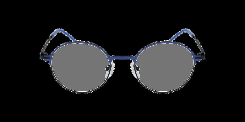 Gafas graduadas mujer VENUS azul/negrovista de frente
