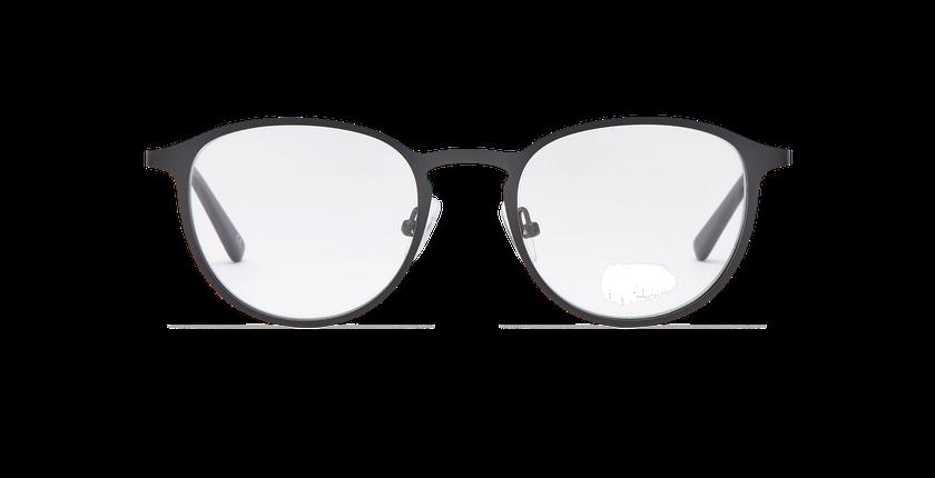 Gafas graduadas hombre ILAN negro - vista de frente