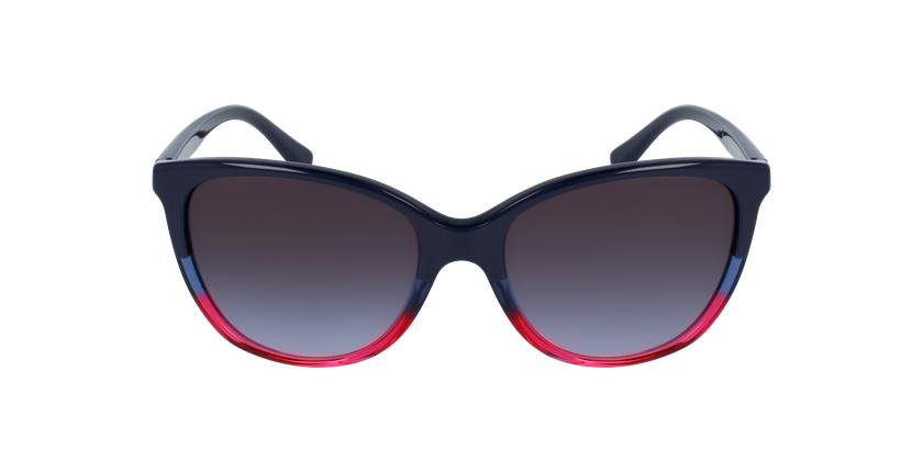 Gafas de sol mujer 0EA4110 negro/azul - vista de frente