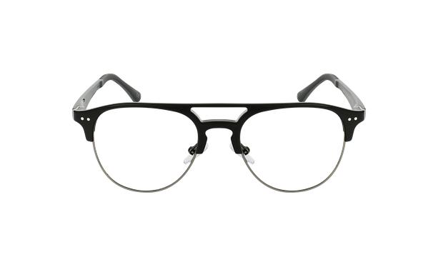Gafas graduadas hombre TMG91 negro/gris - vista de frente