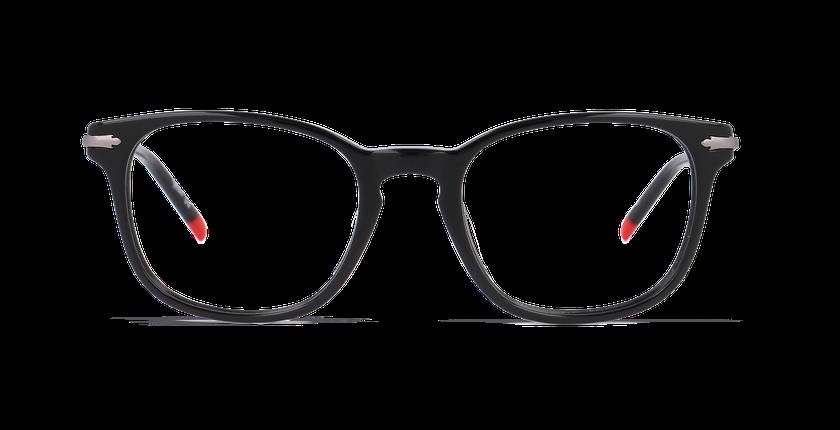 Gafas graduadas hombre WIGAN negro - vista de frente