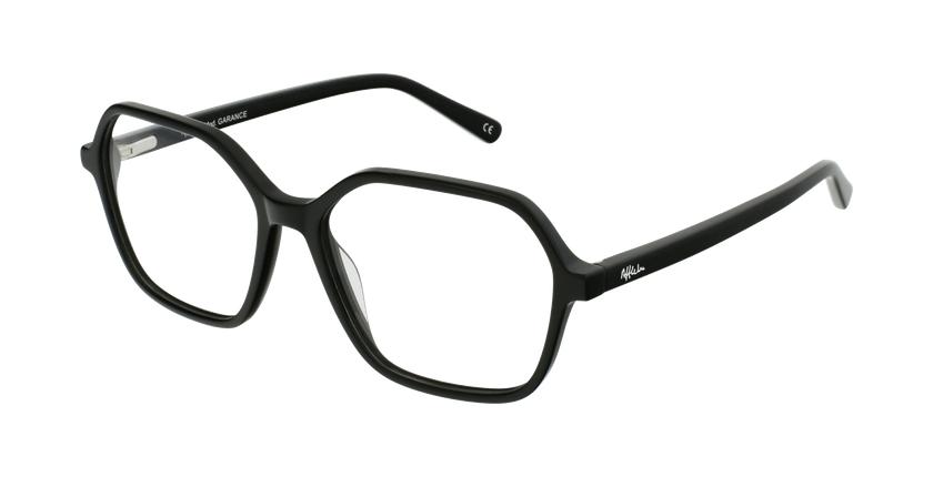 Gafas graduadas mujer GARANCE negro - vue de 3/4