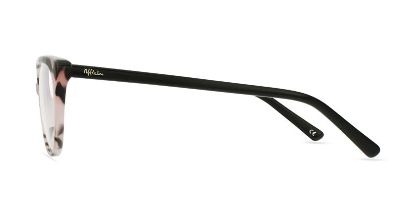 Gafas graduadas mujer OAF21621 rosa - vista de lado