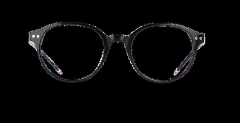 Gafas graduadas hombre LIMBA negro - vista de frente