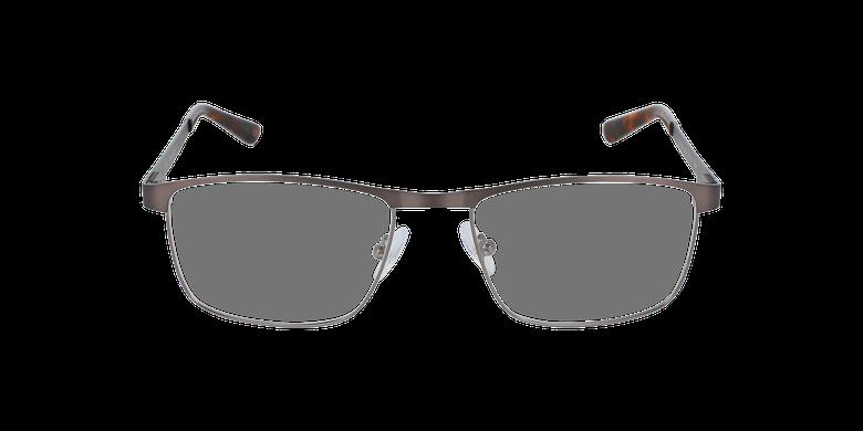 Gafas graduadas hombre GUIDO gris/plateadovista de frente