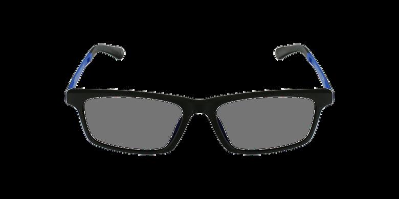 Gafas graduadas hombre MAGIC 62 negro/azulvista de frente